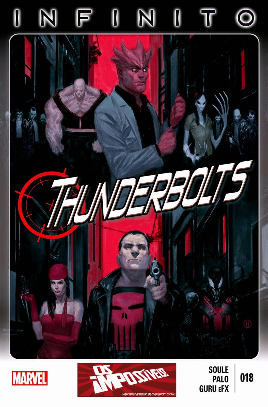 Nova Marvel! Thunderbolts #18