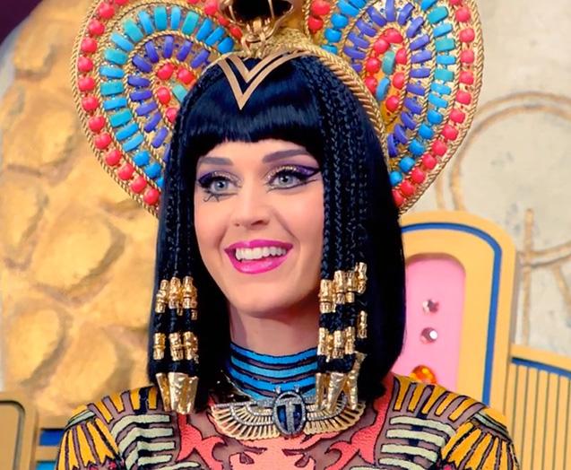 Katy Perry, a Cleópatra mais moderna da atualidade