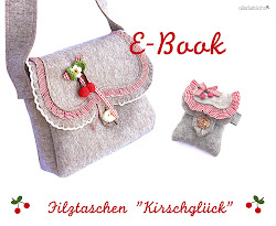 "EBook Filztaschen ""Kirschglck"""