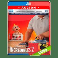Los Increíbles 2 (2018) 3D SBS 1080p Audio Dual Latino-Ingles