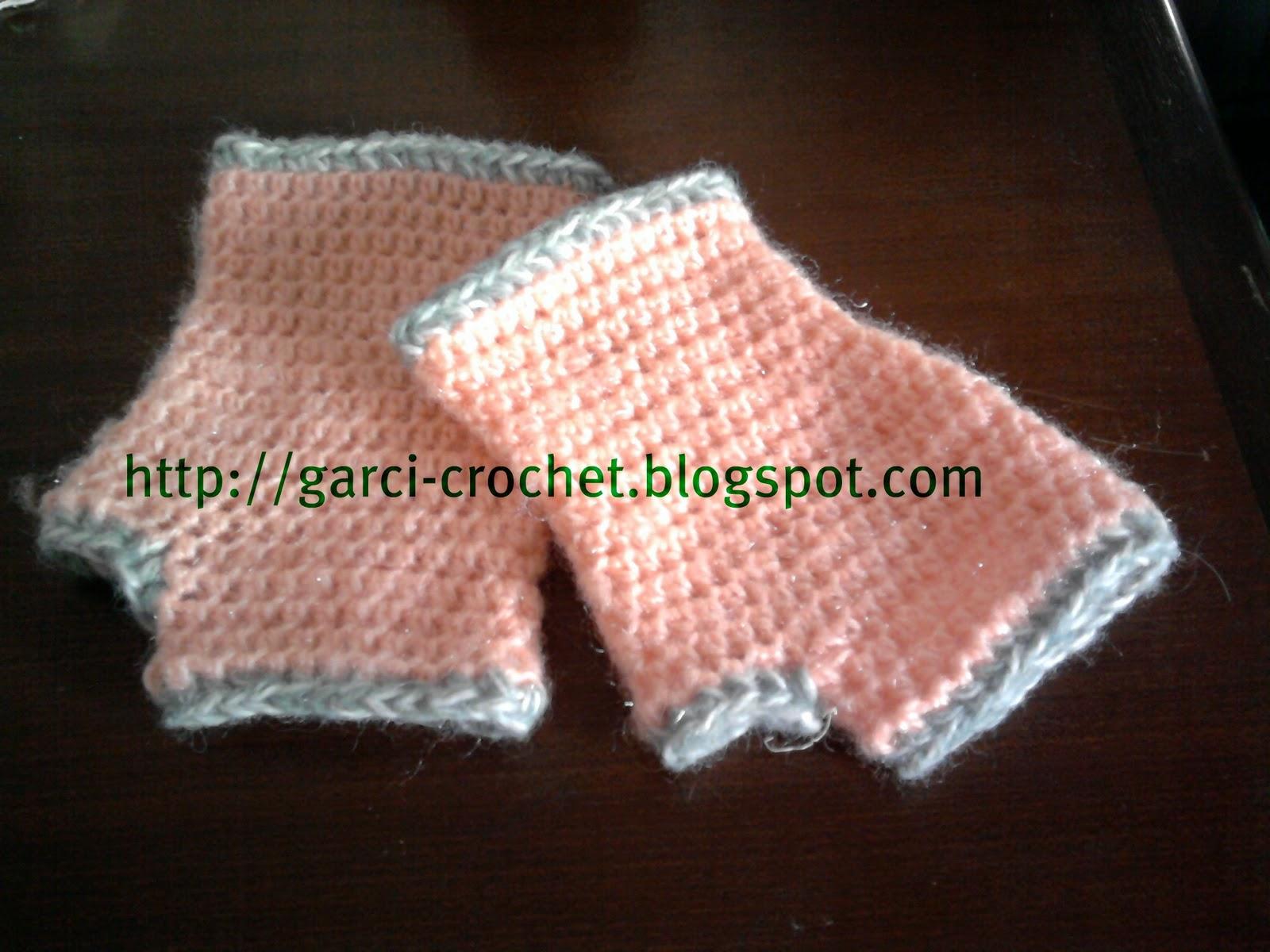 Garci crochet charpe en laine mohair et mitaines au crochet - Demi bride au crochet ...