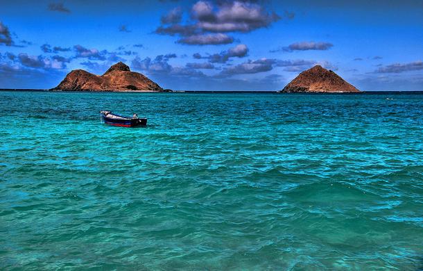 من أروع الشواطئ في العالم على خورة فقط ! lanikai.png