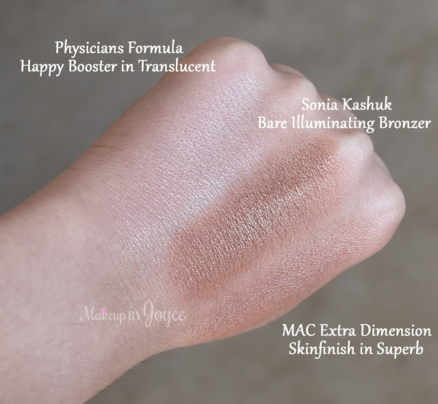 Physicians Formula Happy Booster Glow Mood Boosting Powder in Translucent Swatch