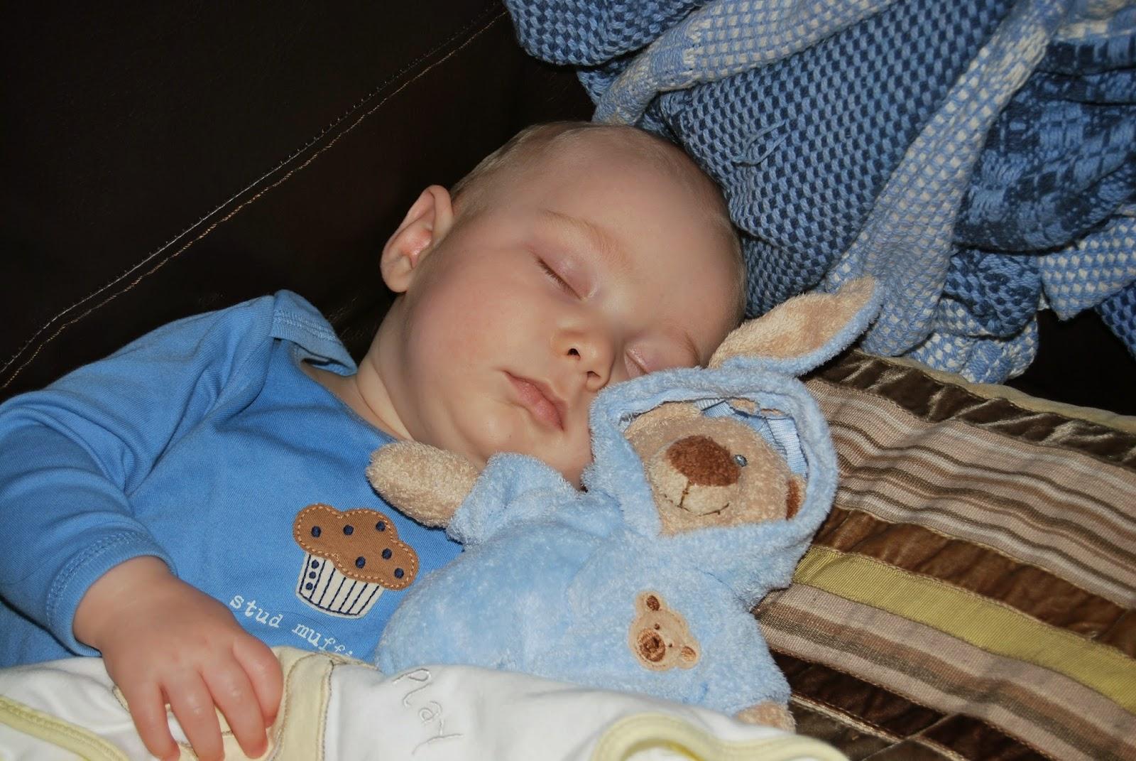 Blake Clement Sleeping