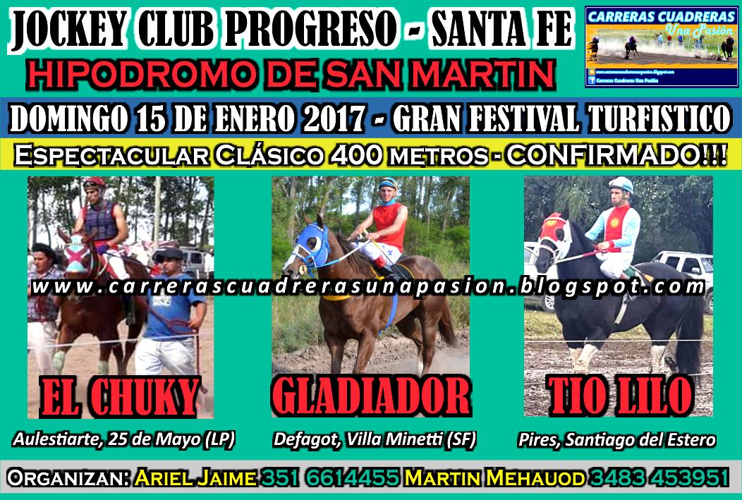 PROGRESO - CLASICO 400