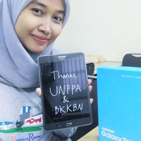1st Winner UNFPA dan BKKBN