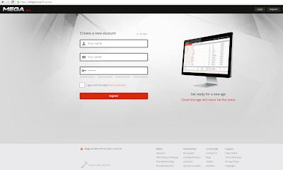 Mini formulario de registro en Mega