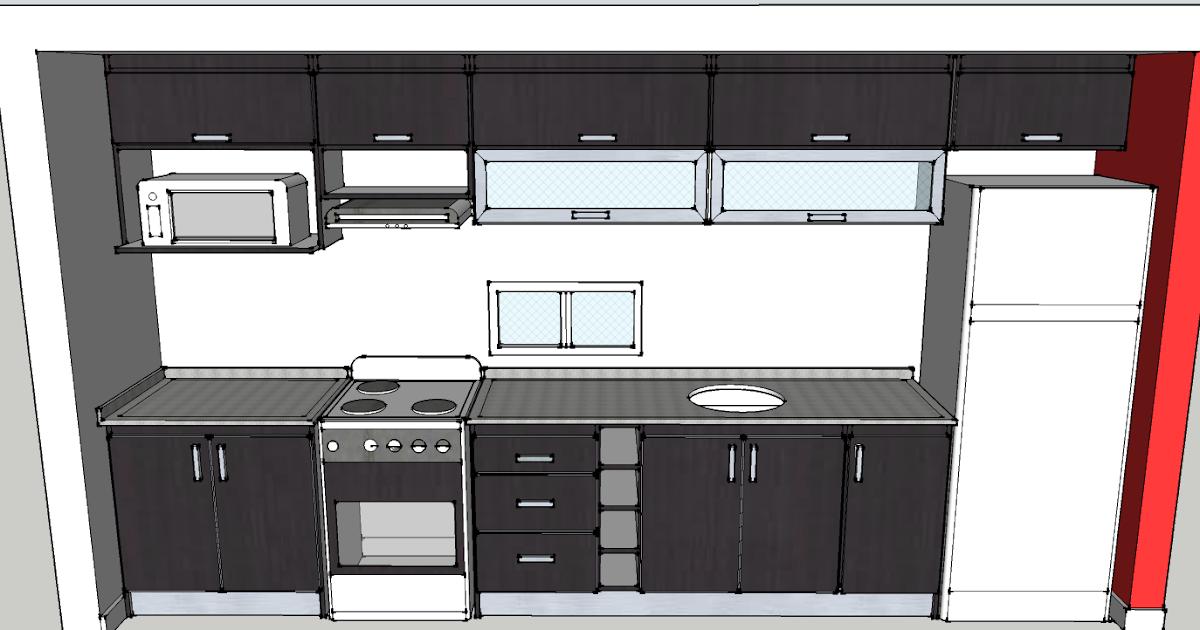 Dise os a medida muebles de cocina carpinterof for Bancos de cocina a medida