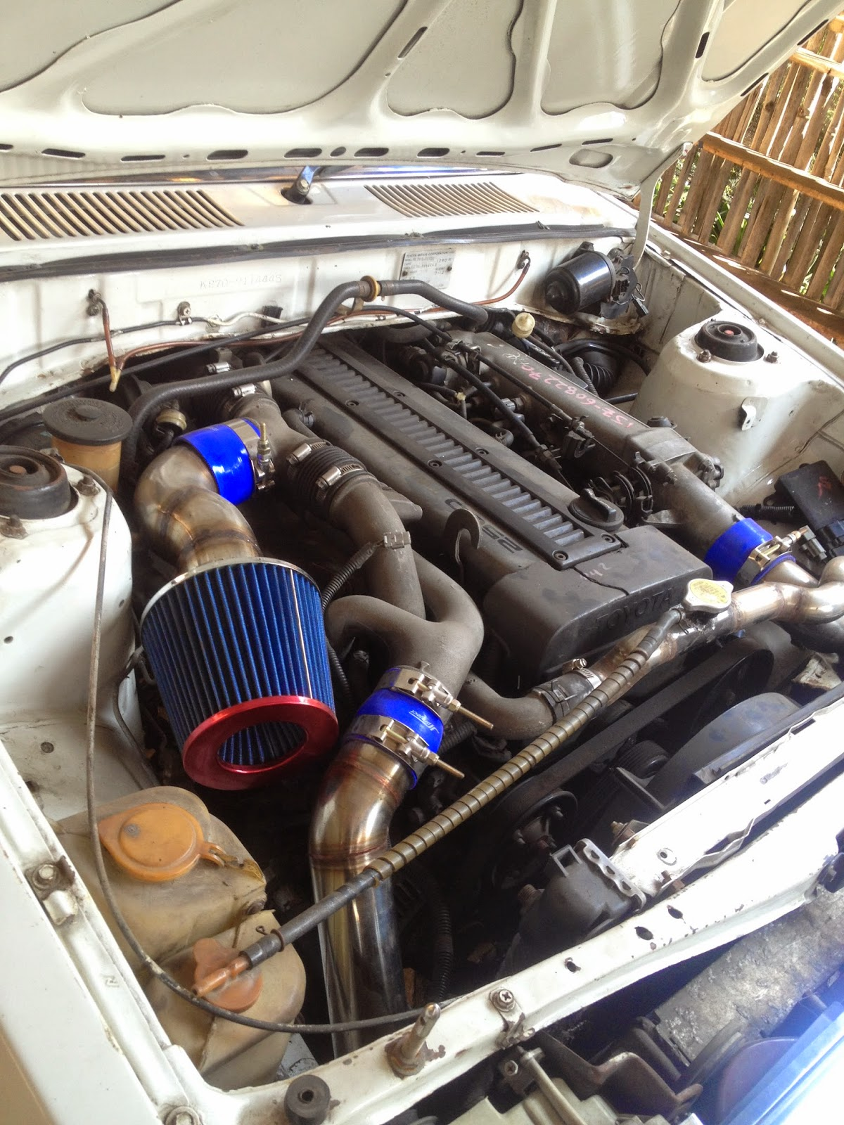 hope my page usefull: my corolla dx engine swap 1jz-gte twin turbo