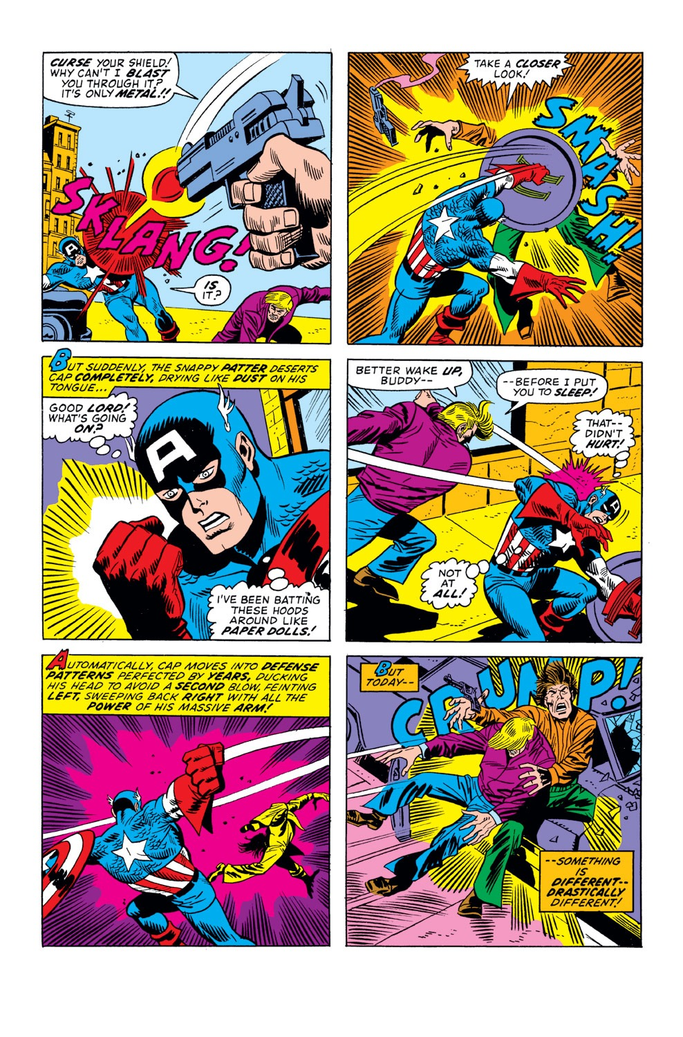 Captain America (1968) Issue #158 #72 - English 13