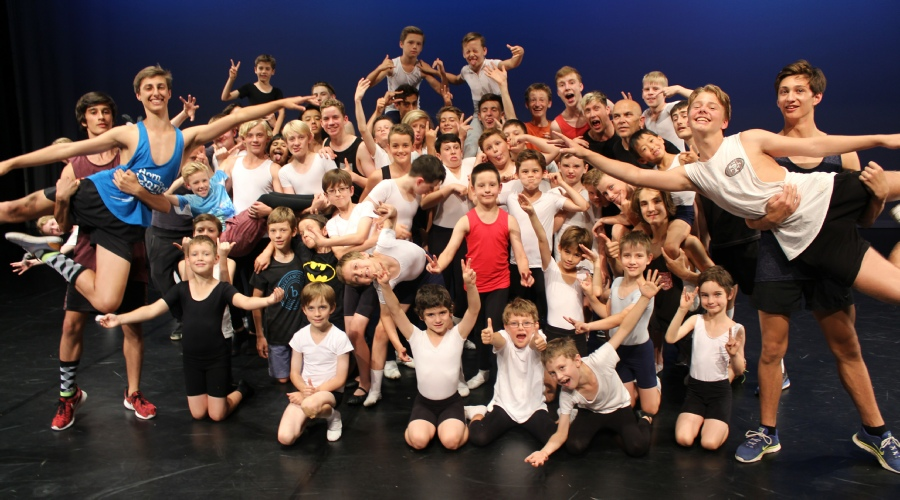 Boys' Ballet Summer School 2015/16