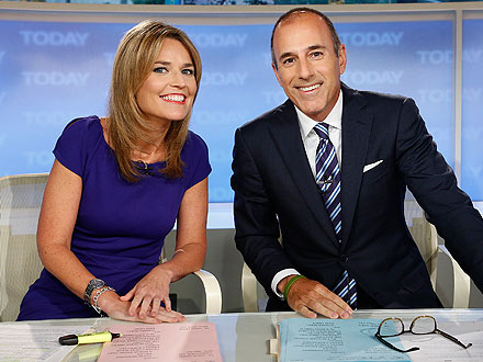 Savannah Guthrie Survives First-Day Hazing on Today » Gossip | Savannah Guthrie