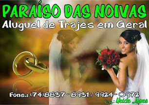 Paraíso das Noivas convida você para o desfile de inauguração no próximo dia 29 de novembro