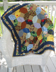 X's and O's baby quilt