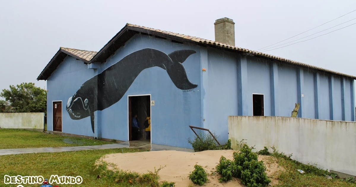 Museu da Baleia, em Imbituba