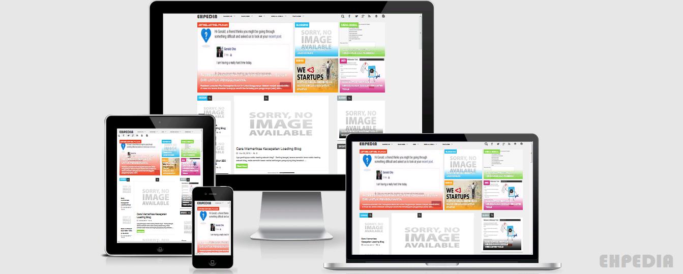 Cara Memeriksa Template Blog Responsif atau Tidak Dengan Am I Responsif Design