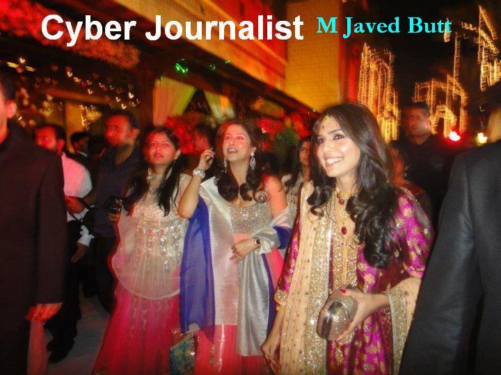 3 - Wedding of Asma Rahman, daughter of Mir Shakeel-Ur-Rahman
