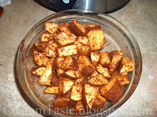 Skillet Boiled Seasoned Potatoes by Custom Taste