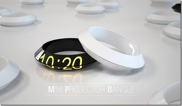 Multifunctional Mini Projector Like Bracelet