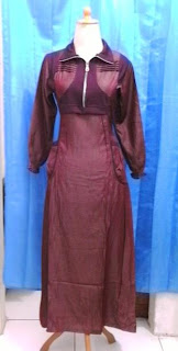 Gamis MINI-01 Merah Size Extra Small