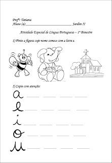 Atividades Para Educação Infantil Diversas Atividades Para Educação