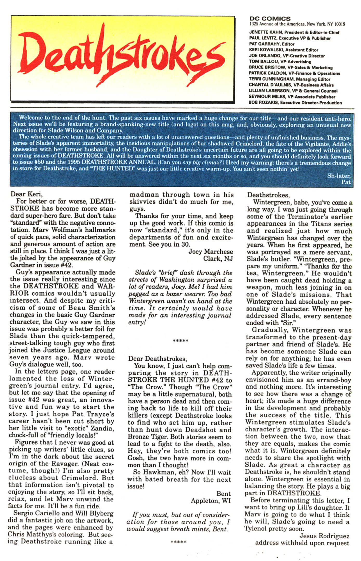 Deathstroke (1991) Issue #45 #50 - English 24