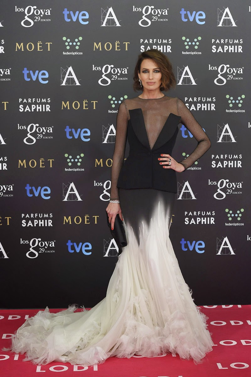 Premios Goya 2015, red carpet, celebs, Haute Couture, Lodi, luxe, Esencia Trendy,
