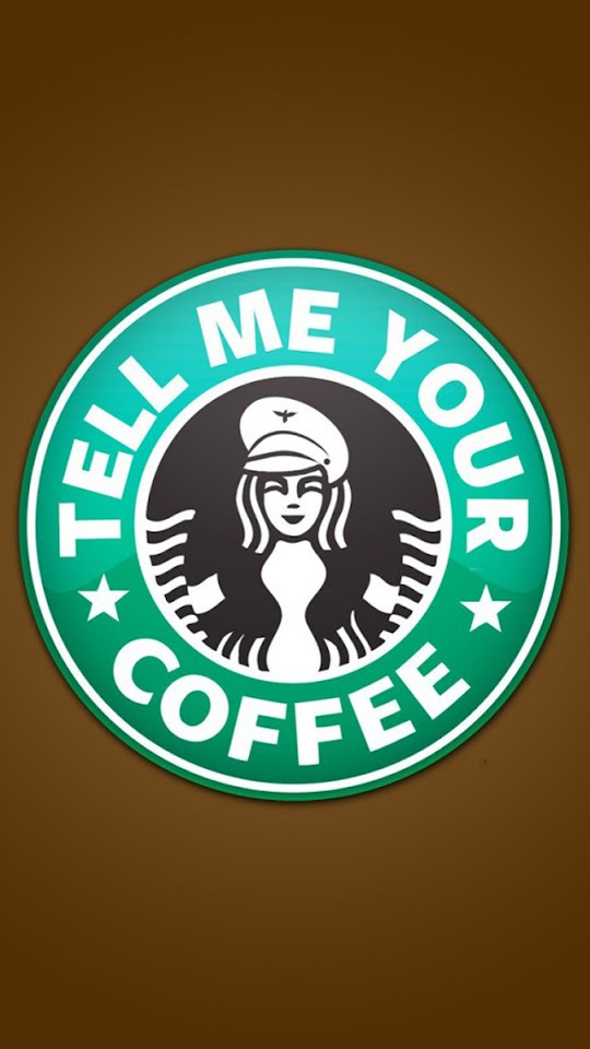 Funny Starbucks Logo   Galaxy Note HD Wallpaper