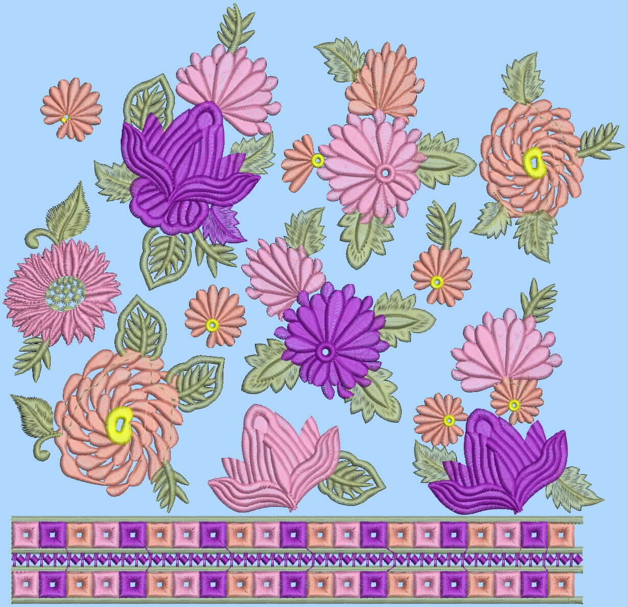 كل الرشمات جميلة Embroidery+designs+suits