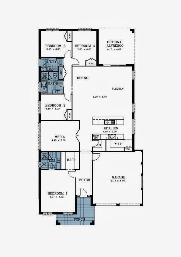 Aquilo 39 s altona our 4 bedroom allworth homes altona for Allworth home designs