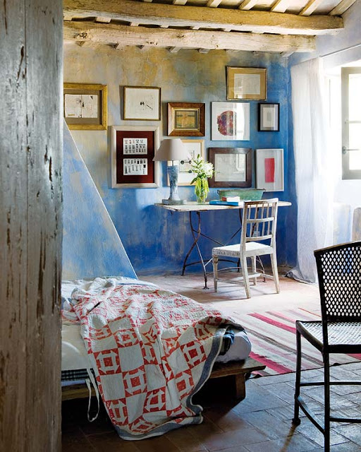 how to decorate a blank wall, with the schemes.