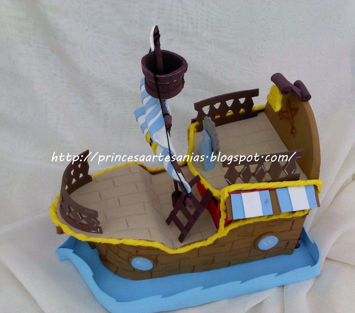 Como Hacer Paso A Paso El Barco De Jake Y Los Piratas De Nunca Jamas