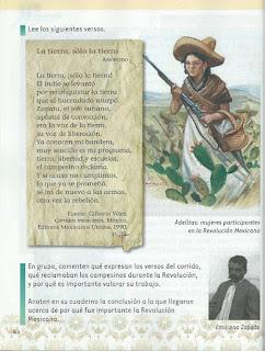 Apoyo Primaria Exploración de la Naturaleza y la Sociedad 2do Grado Bloque II Lección 6 Cómo celebramos: El comienzo de la Revolución Mexicana y la participación del pueblo