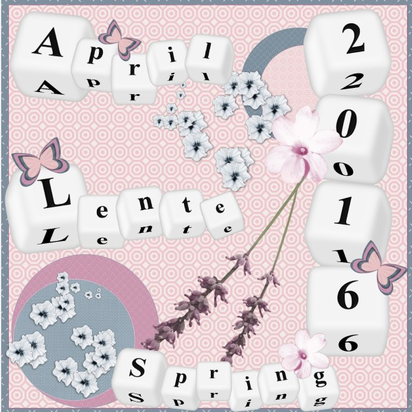 April 2016 Spring Lente