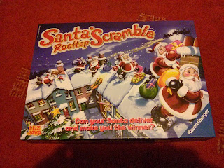 Santa's Rooftop Scramble - #Review