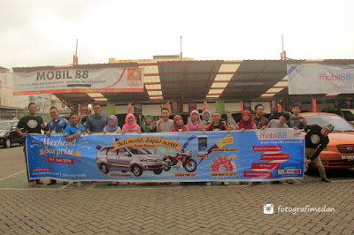 weekend surprice mobil 88 fotografi medan