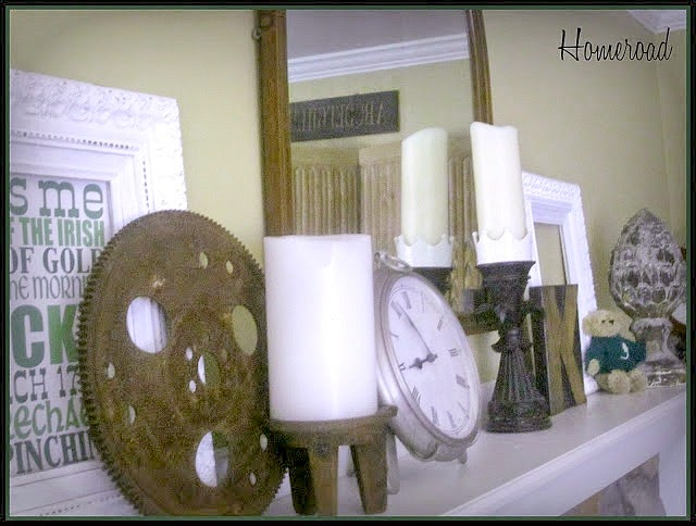 march mantel ideas www.homeroad.net