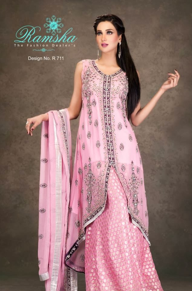 latest Party wear and wedding wear dress designs for Girls ...