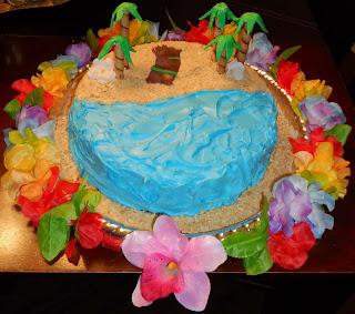 Hawaiian Luau Party Decor