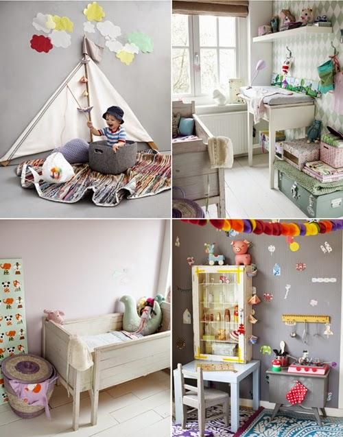 Decoraci n decoracion juguetes y mobiliario infantil reciclado - Decoracion vintage reciclado ...