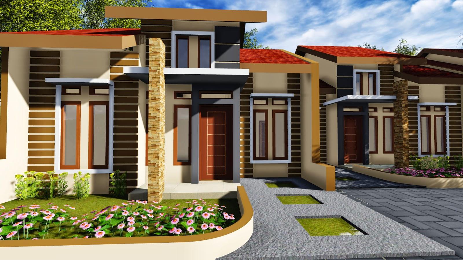 desain rumah type 60 milik pak makmur gowa jasa desain