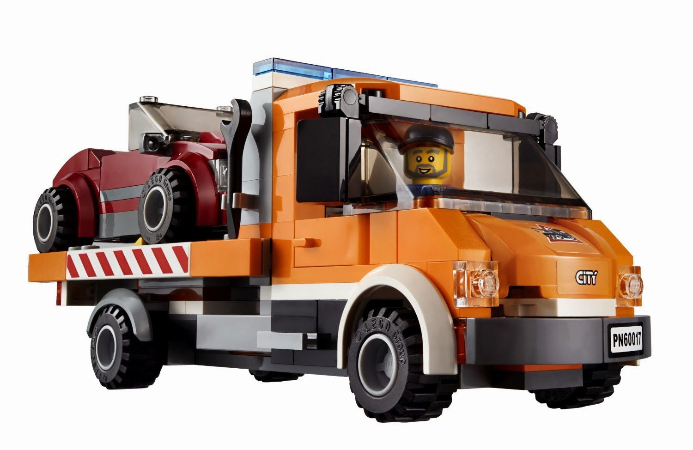 Lego City Flatbed Truck 60017 My Lego Style