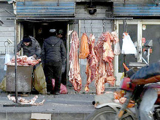 chino vende carne humana