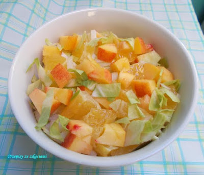 melon sałatka