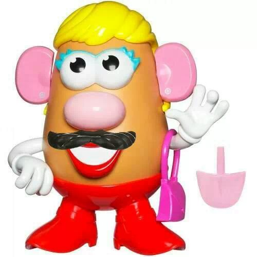 Mr Potat@ travesti!1