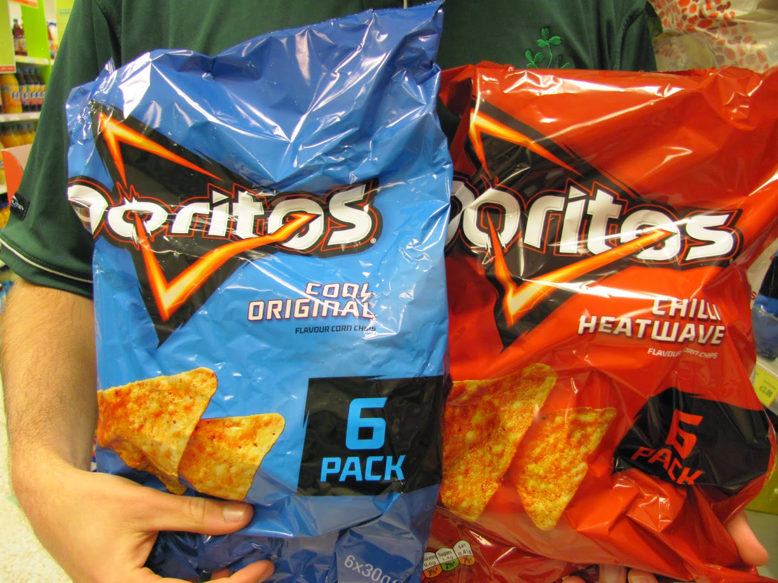 Irish Doritos Flavors