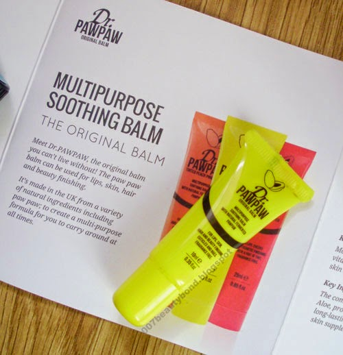 Dr. Pawpaw Multipurpose Soothing Balm beauty box lookfantastic.com