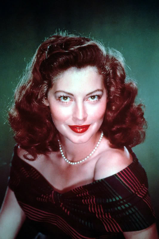 Ruffles Amp Whiskers Old Hollywood Inspiration Ava Gardner