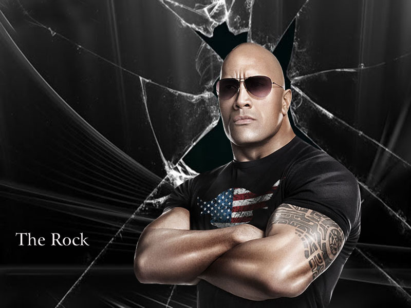 Best Hd Wallpapers For Ipad WWE The Rock 2012