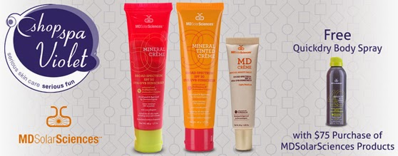 Mineral Sunscreen from MDSolarSciences is all natural